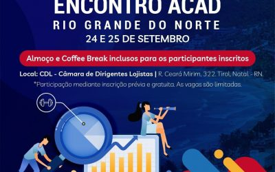 ÚLTIMAS VAGAS PARA ENCONTRO ACAD RIO GRANDE DO NORTE